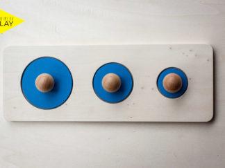 puzzle formas montessori - ephimeraplay
