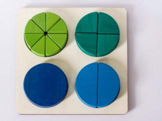 Puzzle fracciones (2) Ephimera
