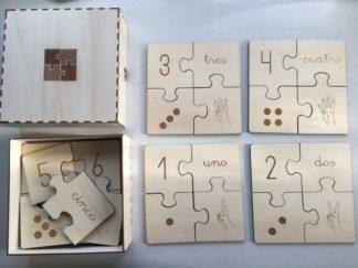 Puzzle subitización EPHIMERA